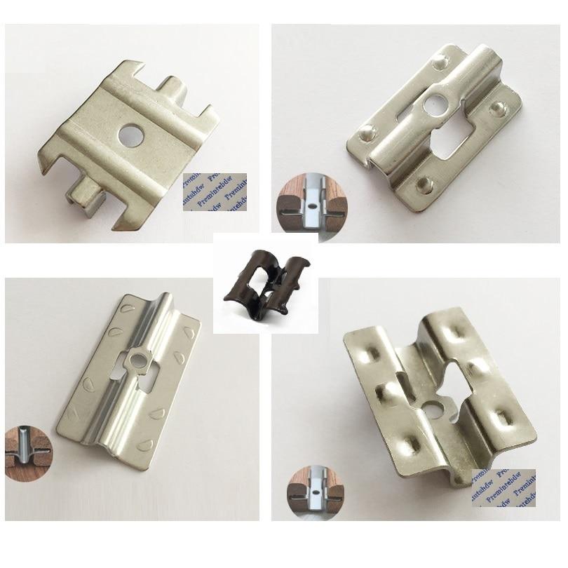 [해외]100Pcs/Lot Preminte 304 Stainless Steel Conceal Hidden Deck Floor Clip Clips Plate For Outdoor Anticorrosive wood flooring/100Pcs/Lot Preminte 304