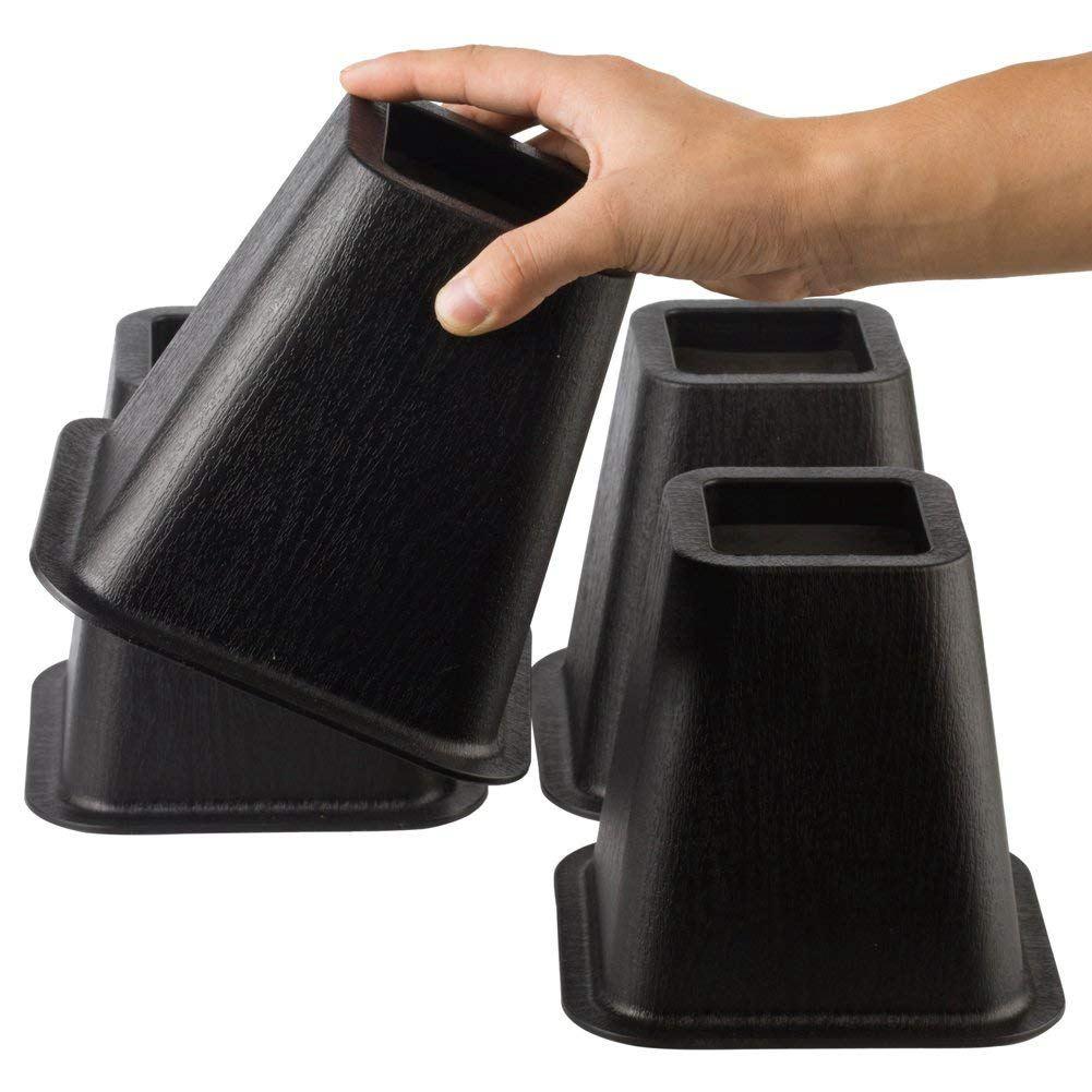 [해외]침대, 의자 등을 올리는 것을 위한 ELEG-4pcs 가구 라이저 원조