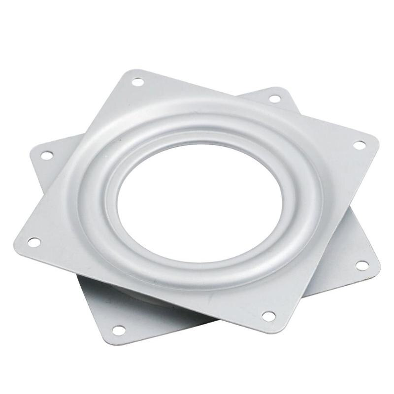 4.5 inch Mechanical Projects Square Exhibition Turntable Bearing Swivel Plate Base Hinges Hardware Fitting Desk Tool /4.5 inch Mechanical Projects