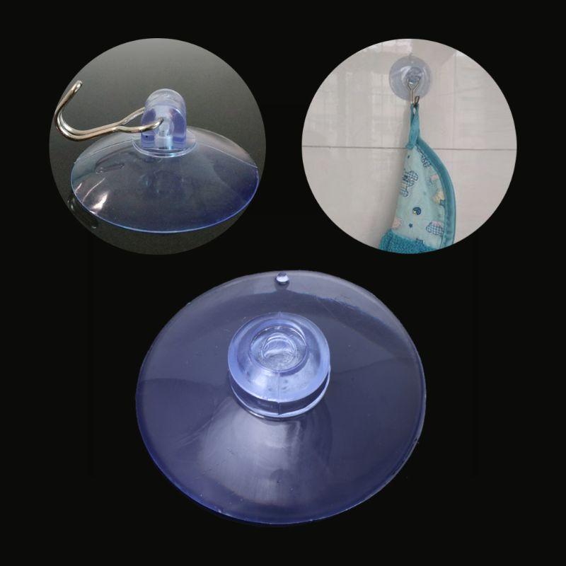 [해외]창 벽 후크에 대 한 100 pcs diy 지우기 35mm 대형 흡입 컵 플라스틱 빨판 패드/창 벽 후크에 대 한 100 pcs diy 지우기 35mm 대형 흡입 컵 플라스틱 빨판 패드