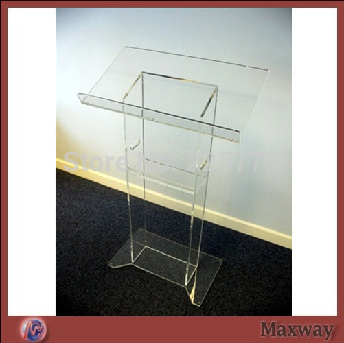 Transparent Church Lectern Church Podium Church Pulpit Church Acrylic Podium  pulpit furniture