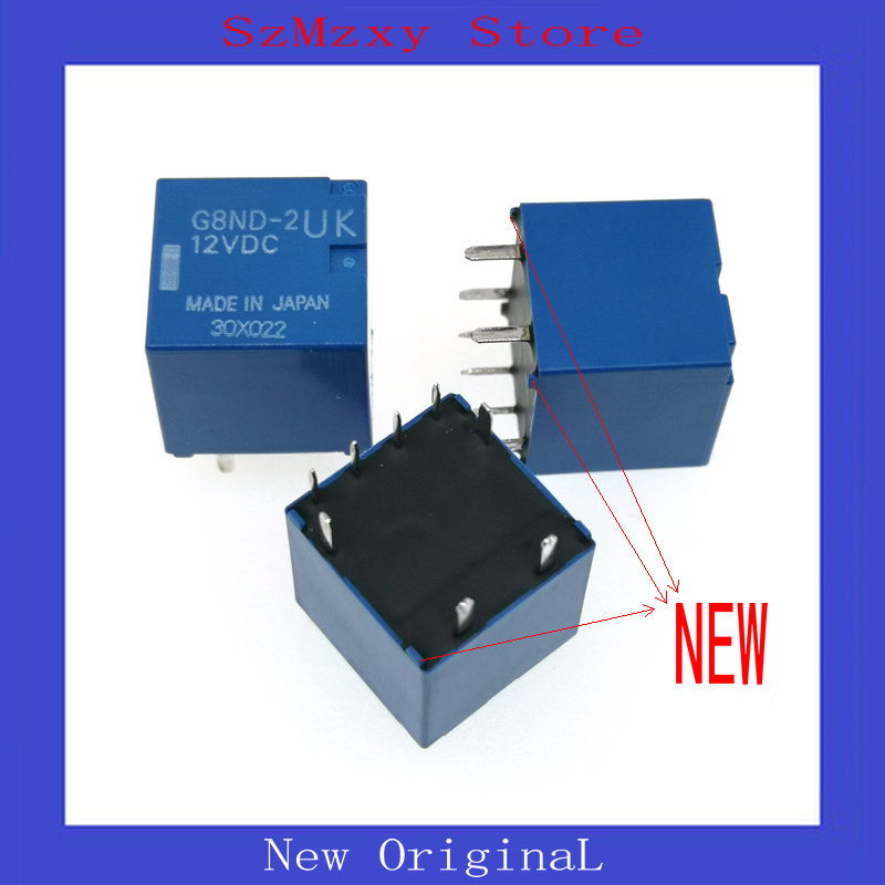 1PCS 새로운 자동 릴레이 G8ND-2UK-12VDC G8ND-2UK 12VDC 12V DIP8 G8ND